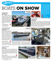 Boats on Show at Crick 2018